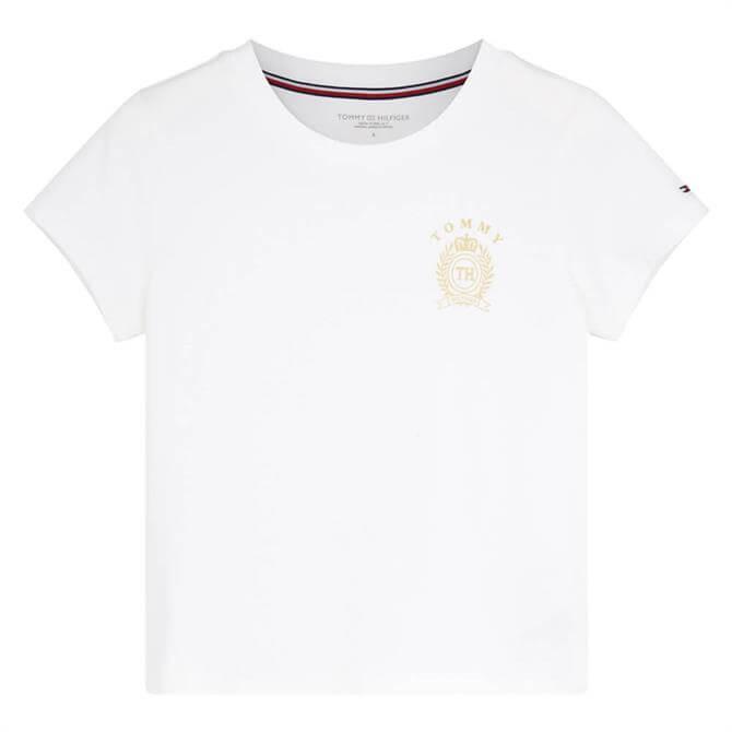 Tommy Hilfiger Crest Logo Cotton Jersey Lounge T-Shirt