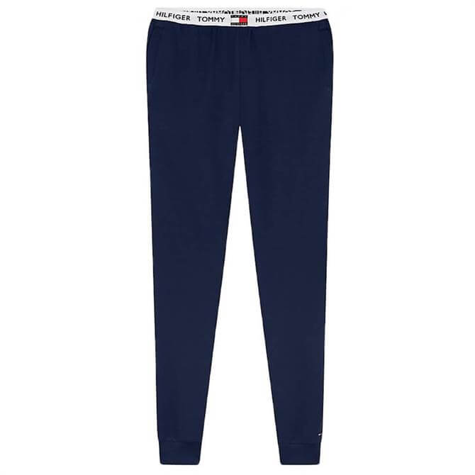 Tommy Hilfiger Logo Waistband Organic Cotton Lounge Trouser