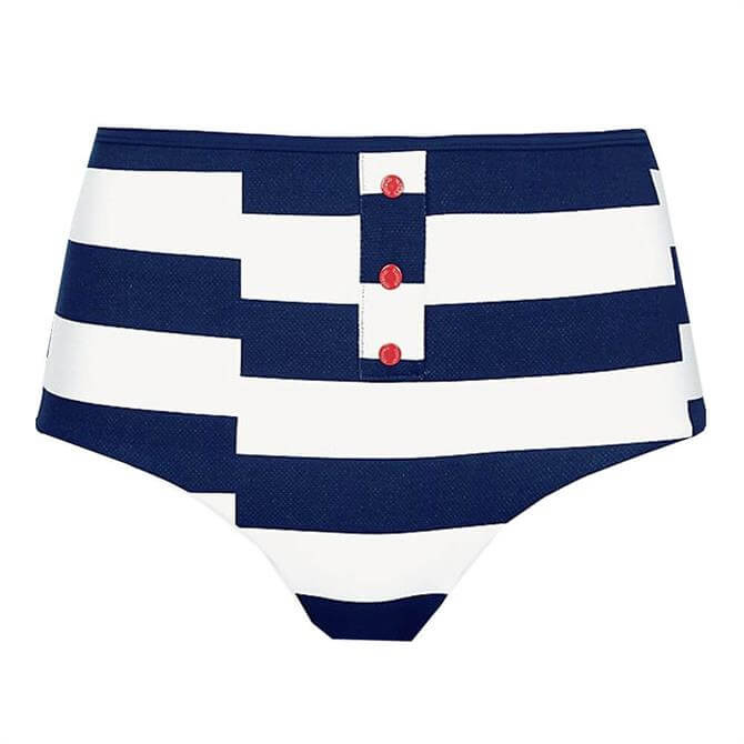 Tommy Hilfiger Mixed Stripe High Waist Bikini Briefs