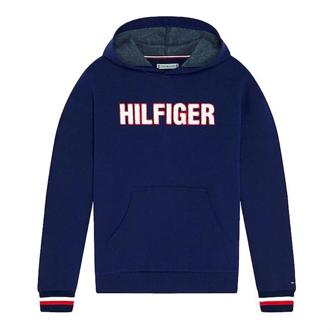 Tommy Hilfiger Repurposed Towelling Logo Hoody