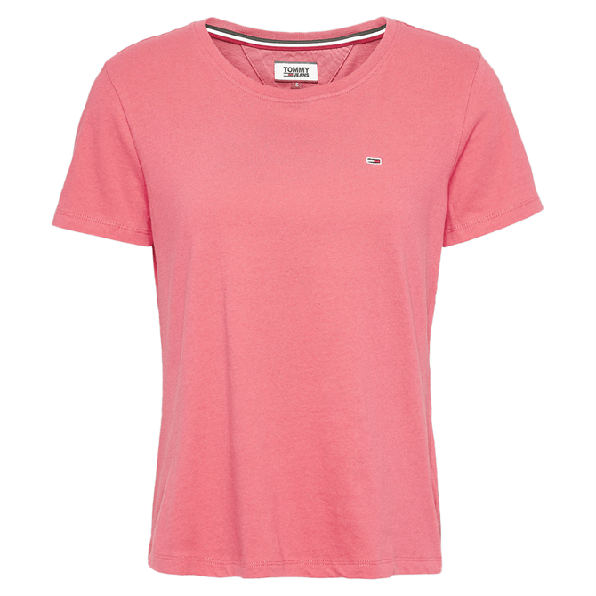 Tommy Jeans Pure Organic Cotton Slim Fit T-Shirt