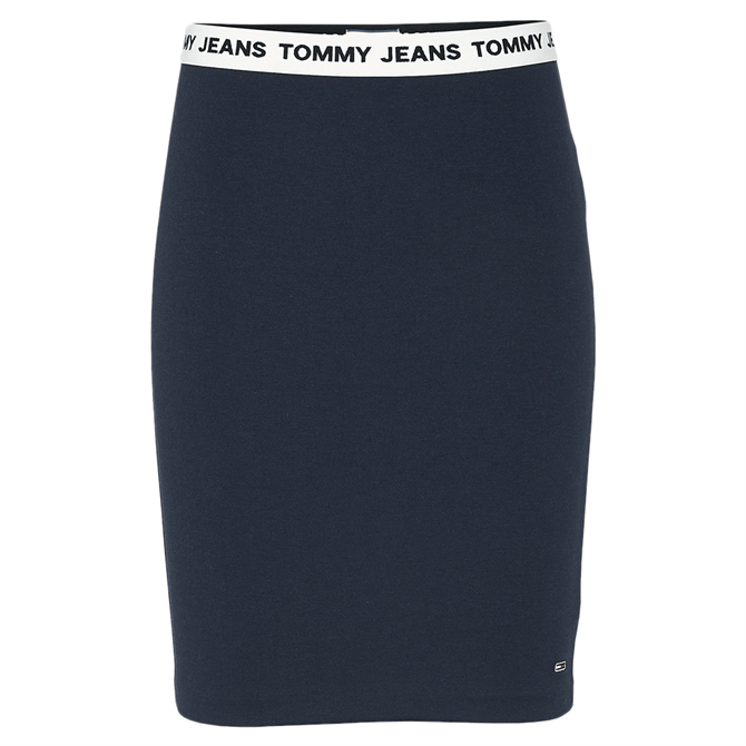 Tommy Jeans Contrast Waistband Bodycon Skirt