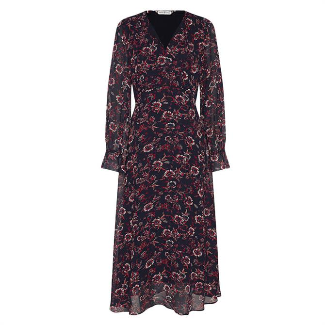 Tommy Hilfiger Amia Floral Midi Dress