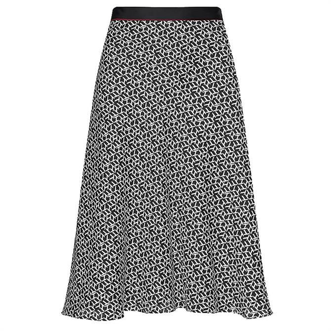 Tommy Hilfiger Monogram Print Skirt
