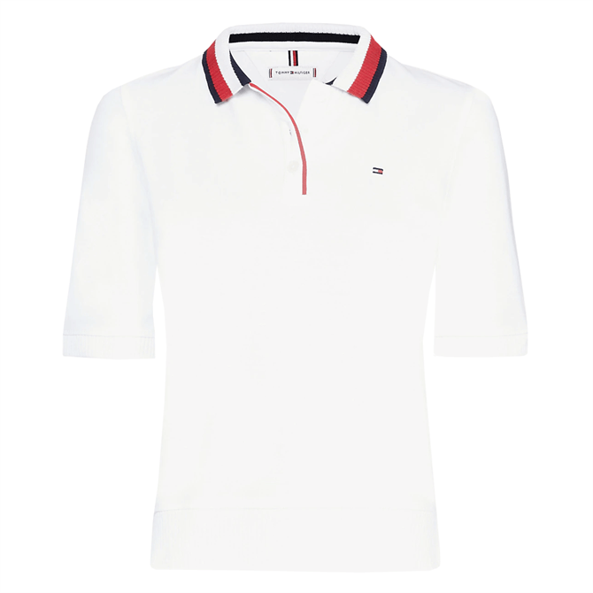 Tommy Hilfiger Signature Tape Collar Polo
