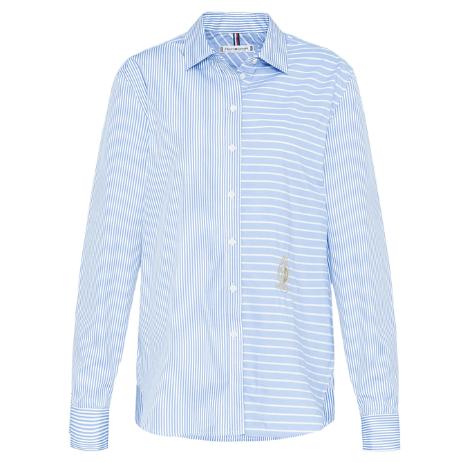 Tommy Hilfiger Mixed Stripe Relaxed Shirt