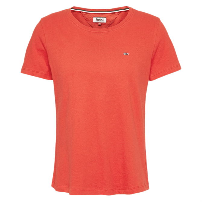 Tommy Jeans Organic Cotton Slim Fit T-Shirt