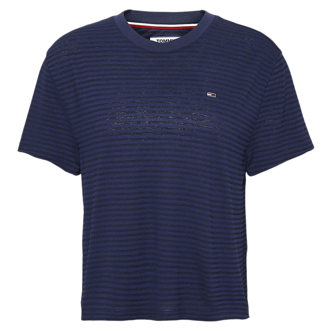Tommy Jeans Stripe Crew Neck T-Shirt