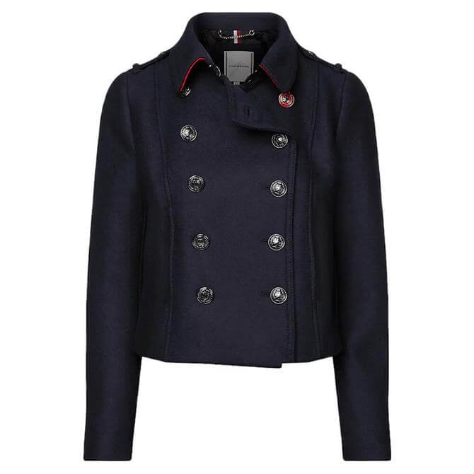 Tommy Hilfiger Double-Breasted Utility Jacket