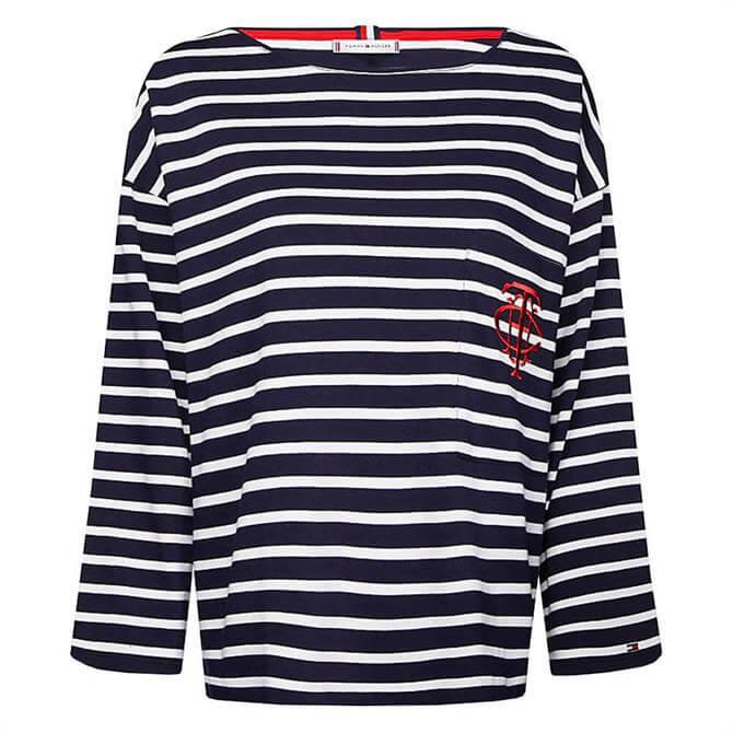 Tommy Hilfiger Essential Monogram Breton T-Shirt