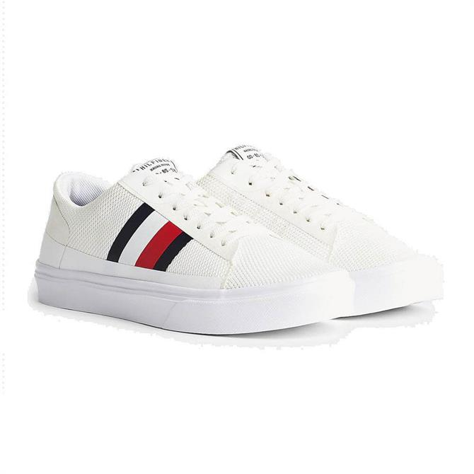 Tommy Hilfiger Lightweight Signature Colour-Blocked Trainers