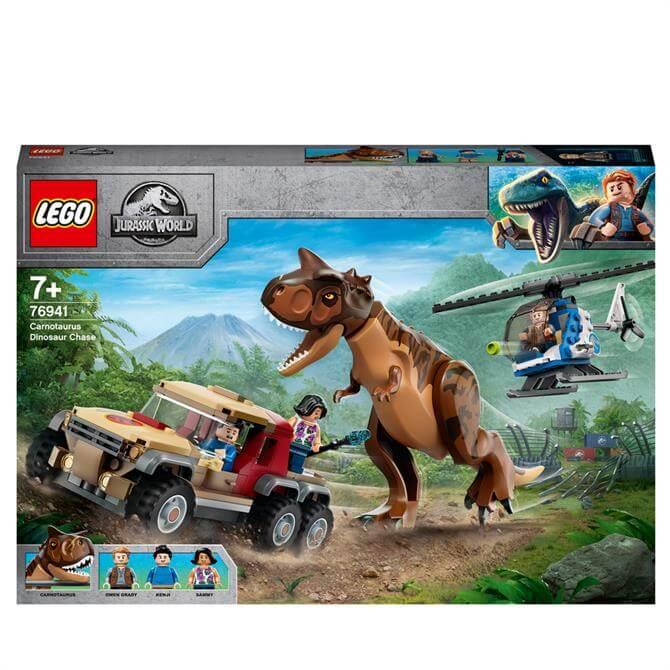 Lego Carnotaurus Dinosaur Chase 76941