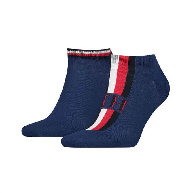 Tommy Hilfiger Iconic Stripe Trainer Socks 2 Pack