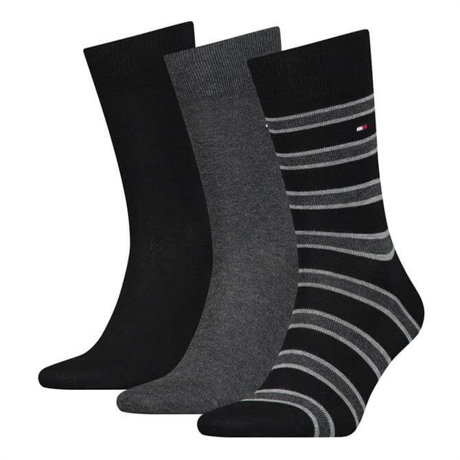 Tommy Hilfiger 3 Pack Classic Socks