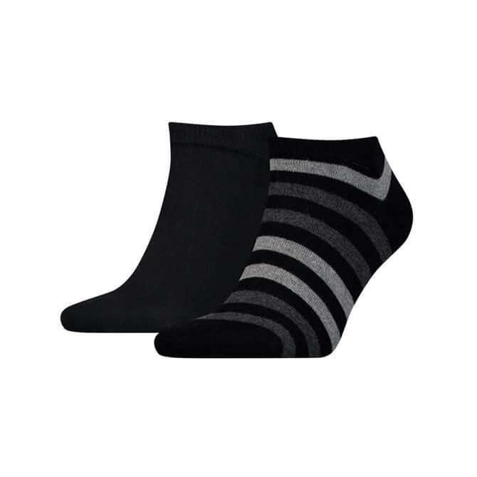 Tommy Hilfiger Duo Stripe Trainer Socks 2 Pack
