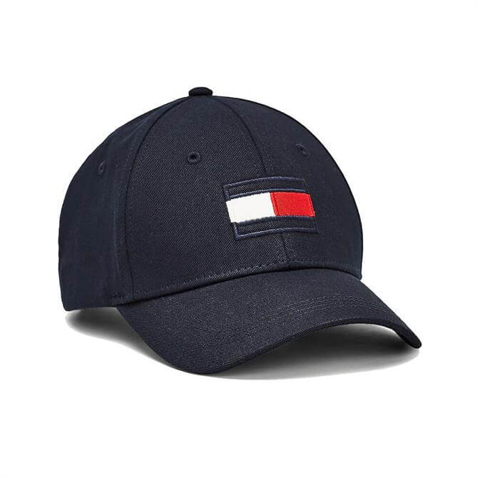 Tommy Hilfiger Flag Patch Pure Cotton Baseball Cap