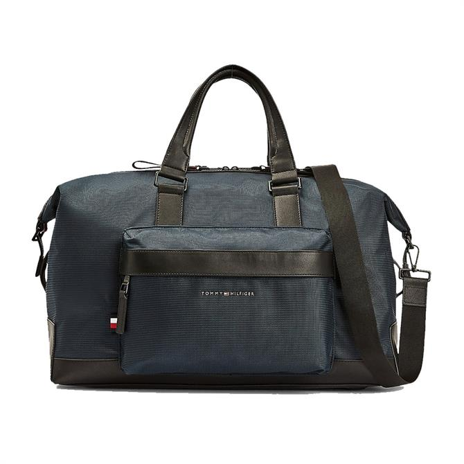 Tommy Hilfiger Contrast Trim Recycled Polyester Duffle Bag