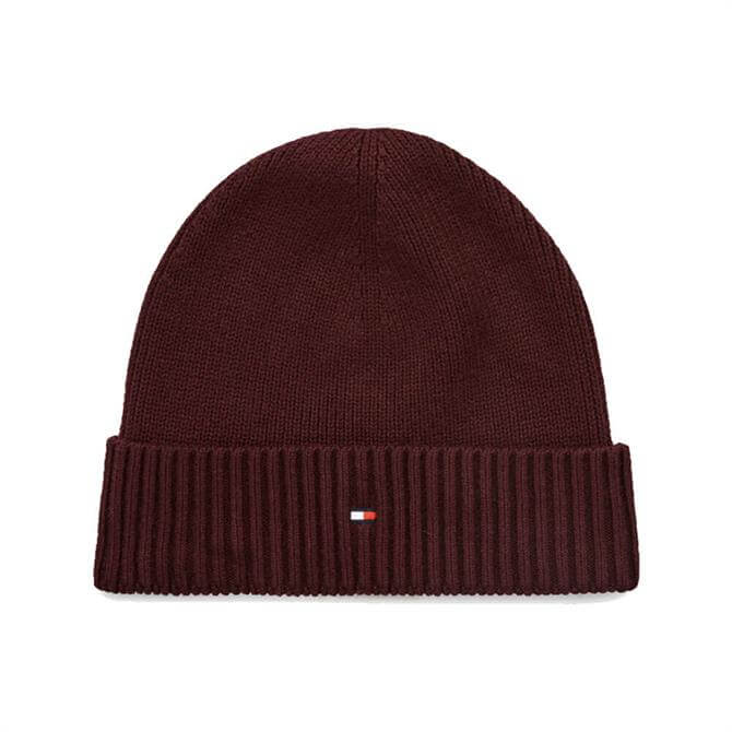Tommy Hilfiger Cotton Cashmere Blend Beanie Hat