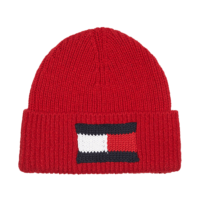Tommy Hilfiger Knitted Flag Beanie