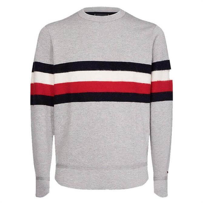 Tommy Hilfiger Cotton-wool Blend Stripe Jumper
