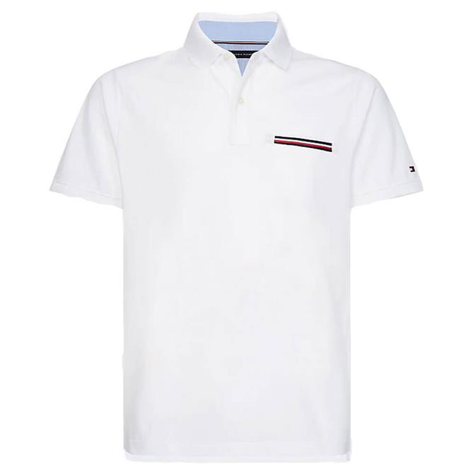 Tommy Hilfiger Signature Chest Pocket Polo Shirt