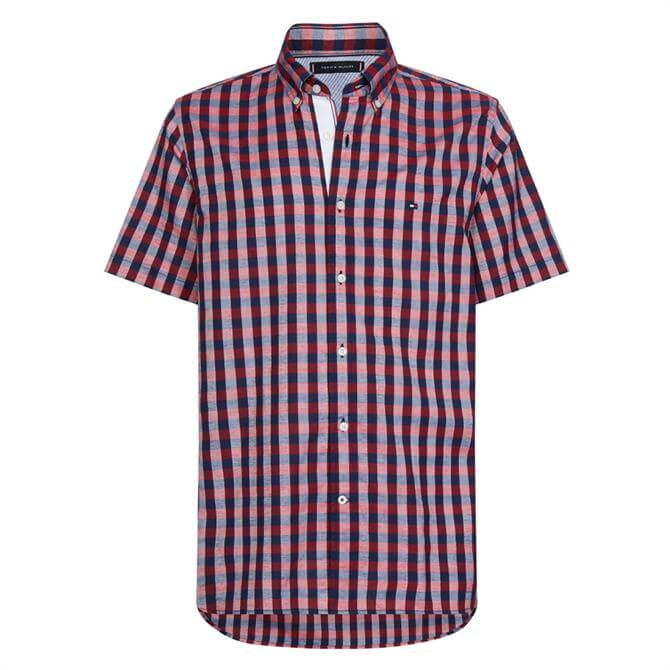 Tommy Hilfiger Short Sleeve Checked Shirt