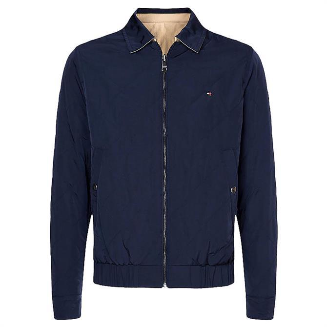 Tommy Hilfiger Reversible Zip-Thru Ivy Jacket