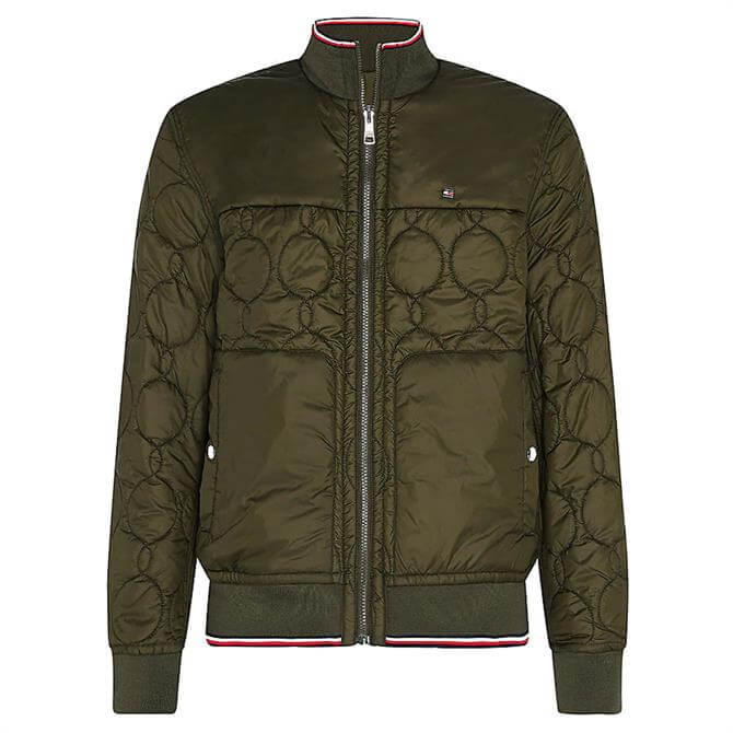 Tommy Hilfiger Reversible Circle Quilted Bomber Jacket