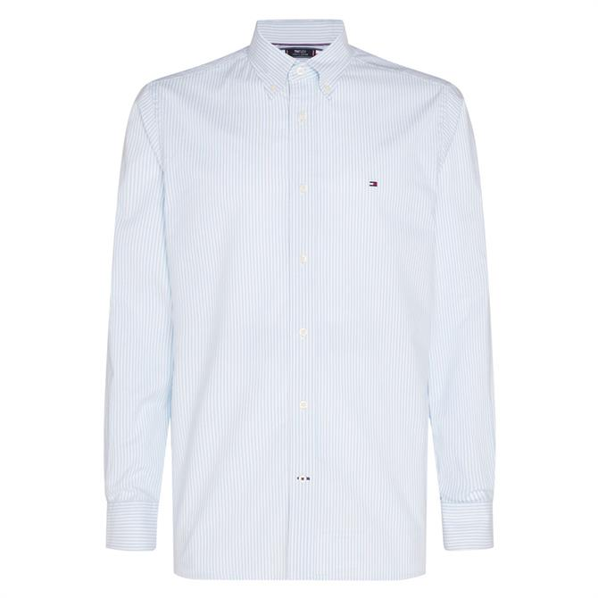 Tommy Hilfiger TH Flex Stripe Oxford Shirt