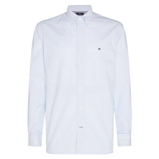 Tommy Hilfiger TH Flex Stripe Oxford Shirt