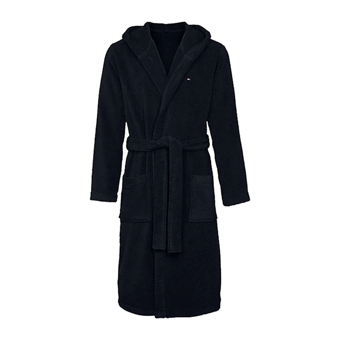 Tommy Hilfiger Pure Cotton Hooded Bathrobe