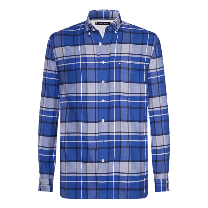 Tommy Hilfiger Regular Fit Plaid Checked Shirt