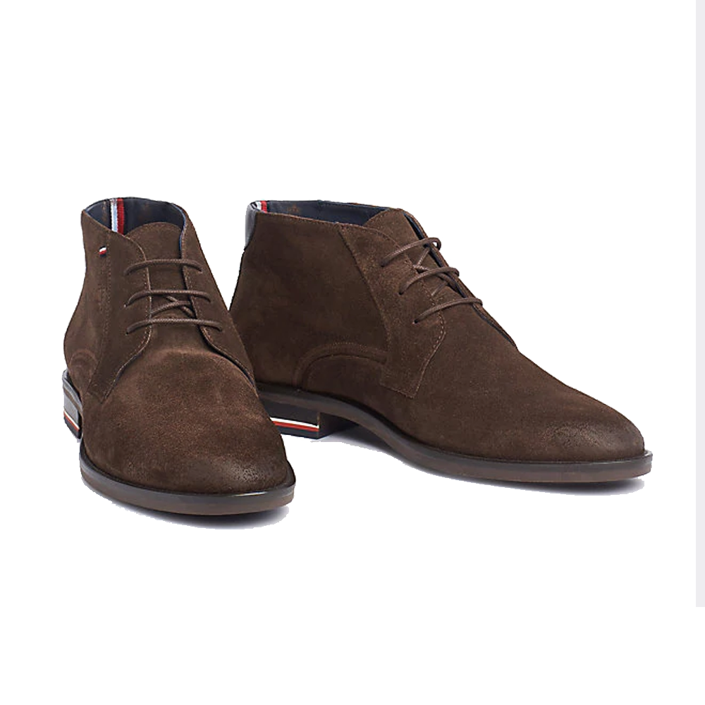 Tommy Hilfiger Signature Lace-Up Suede