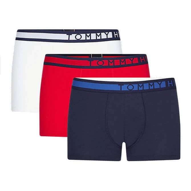 Tommy Hilfiger 3-Pack Waistband Trunks