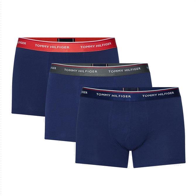 Tommy Hilfiger 3-Pack Stretch Cotton Trunks