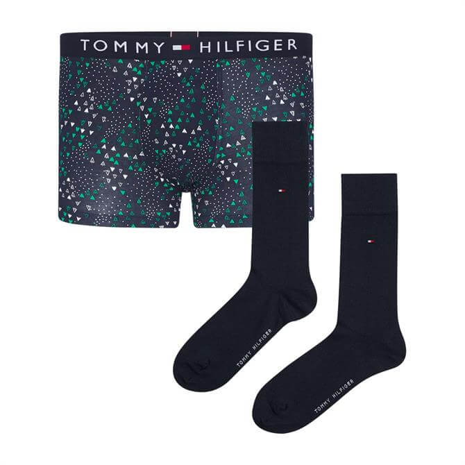 Tommy Hilfiger Trunk and Socks Gift Set