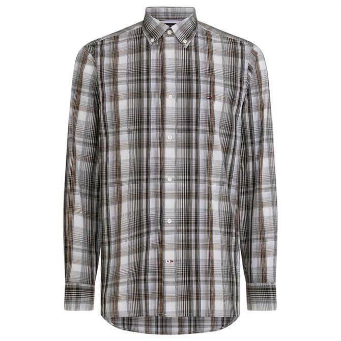 Tommy Hilfiger Poplin Check Regular Fit Shirt