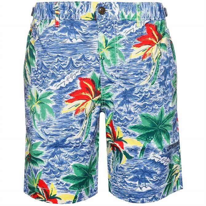 Tommy Hilfiger Hawaii Print Shorts