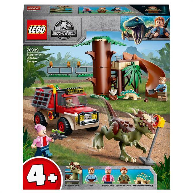 Lego Stygimoloch Dinosaur Escape 76939