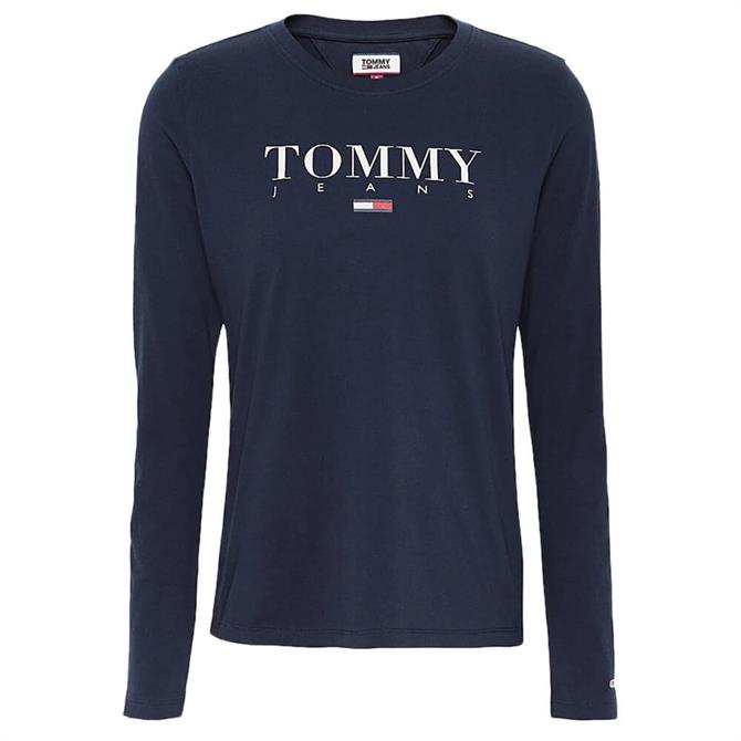 Tommy Jeans Essential Logo Long Sleeve T-Shirt