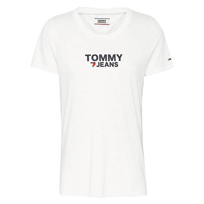 Tommy Jeans Heart Logo T-Shirt