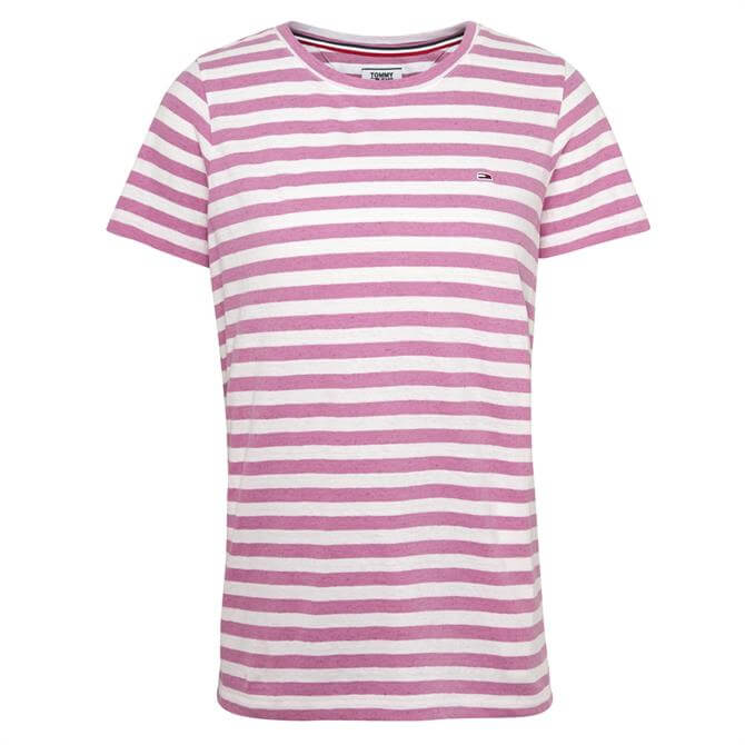 Tommy Jeans Textured Stripe T-Shirt