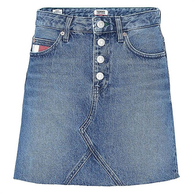 Tommy Jeans Heritage Denim Mini Skirt