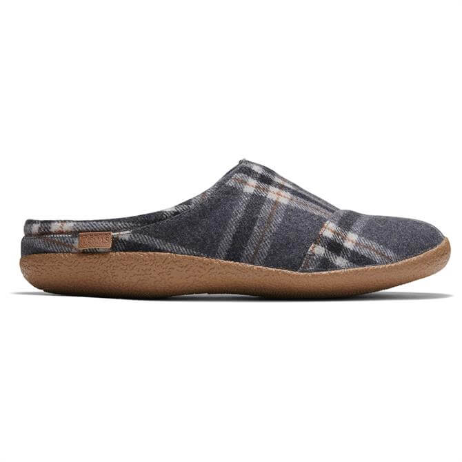 TOMS Berkeley Shade Earthy Plaid Slippers