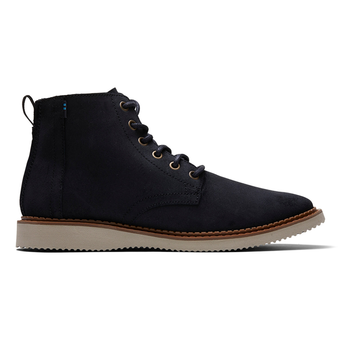 TOMS Black Suede Porter Boots