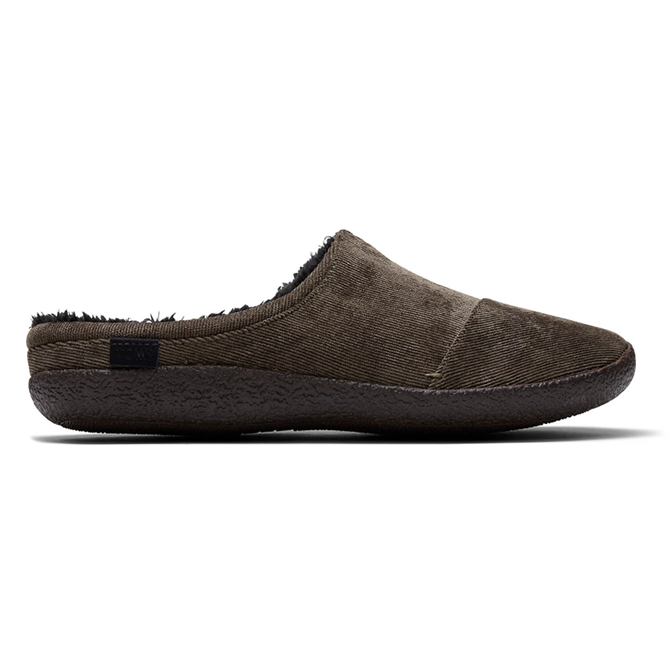 TOMS Olive Green Corduory Berkeley Men's Slippers