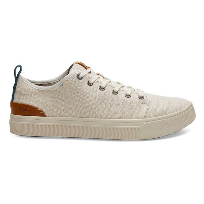 TOMS TRVL Low Lite Natural Canvas Trainers