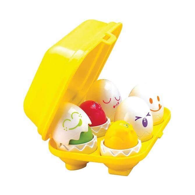 Tomy Hide & Squeak Eggs Shape Sorter Toy