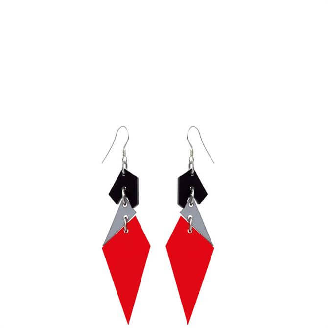 Toolally Abstract Diamonds Earrings