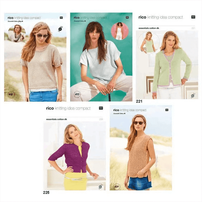 Rico Designs Knitting Idea Compact Jersey Pattern